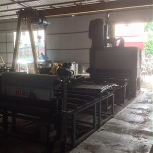 Hình ảnh nhà xưởng và kho bãi thép